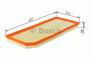 Въздушен филтър BOSCH 1 457 433 587 Volvo XC90  бензин -2014